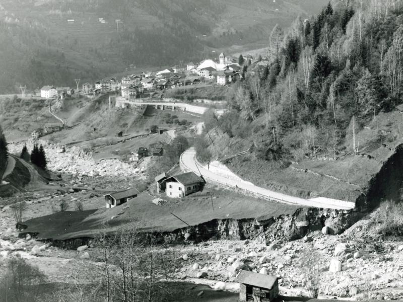Alluvione 66 - Torrente Lozen a Canal San Bovo