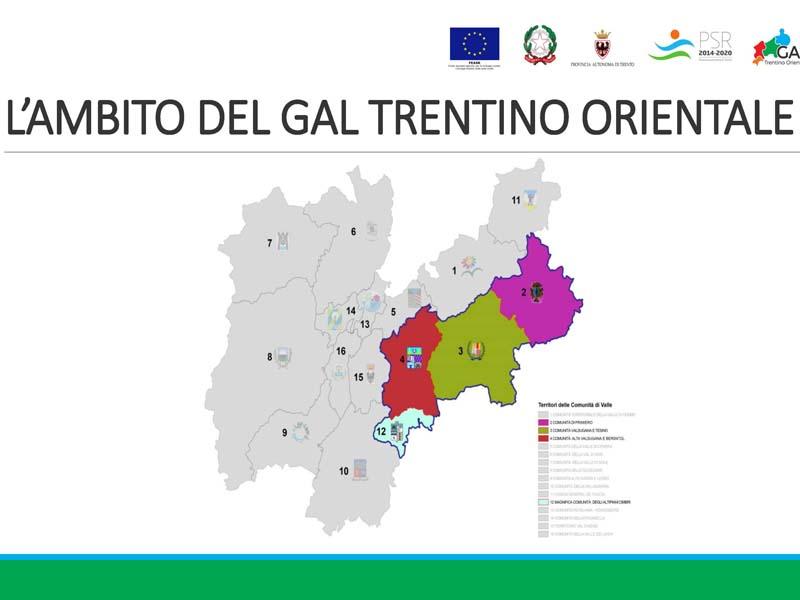 Usciti nuovi bandi GAL Trentino Orientale