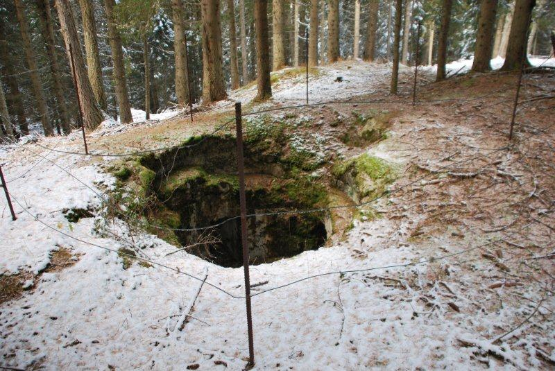 Apertura Bunker nei dintorni di Forte Dossaccio