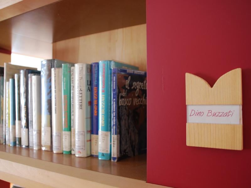Biblioteca - Le opere di Buzzati