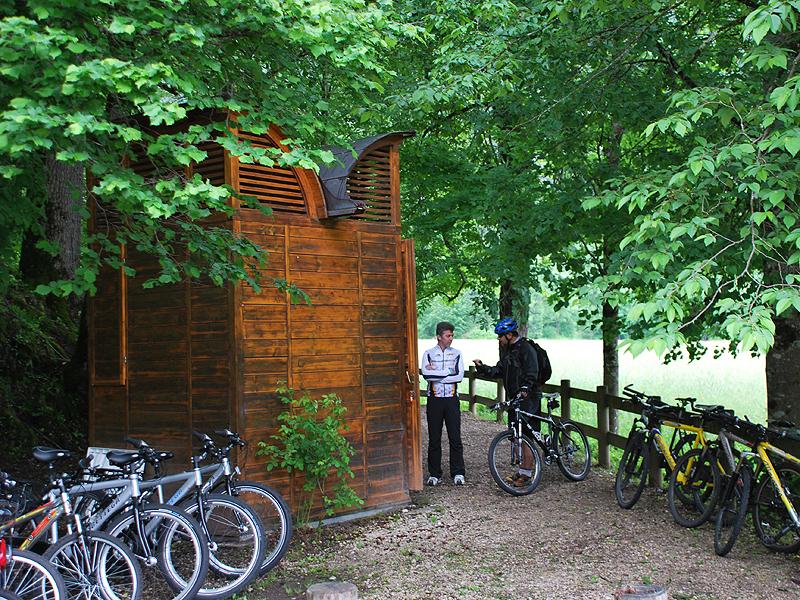 Bici a Villa Welsperg