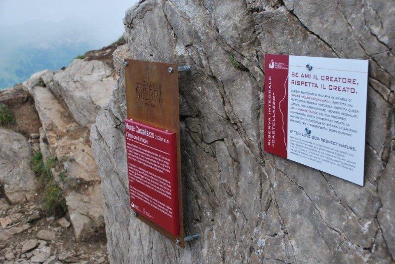 Le tracce della Grande Guerra: Il percorso del Monte Castellazzo