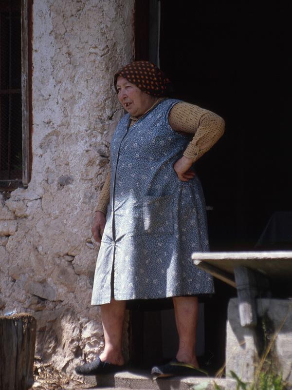 Caterina Zagonel a Tambaril (1992) Foto M. Cecco