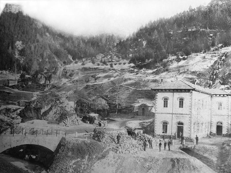 Centrale Boaletti inizio Novecento