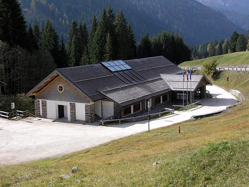 Centro visitatori del Parco a Paneveggio