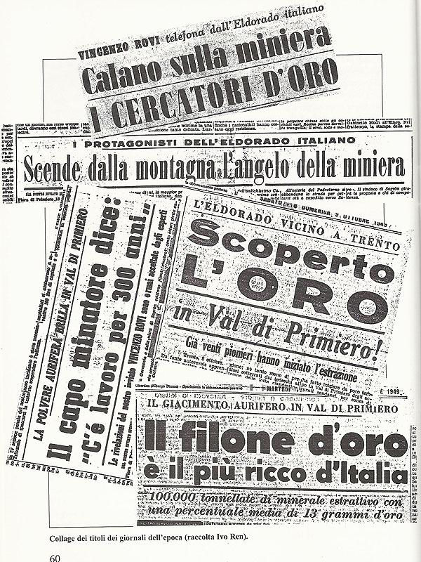 Collage giornali d'epoca 1948