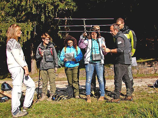 Corso faunistico 2015 Ph Valentina Iaseri
