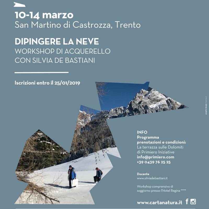 Dipingere la neve 10-14 marzo 2019