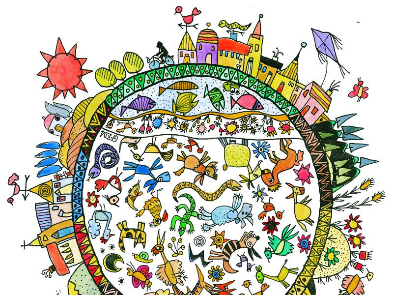 Disegno biodiversità