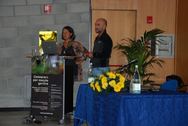 Gallo cedrone 2011 - Ilse Storch e Luca Rotelli