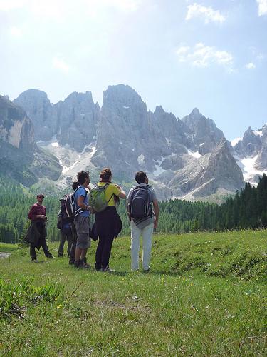 Gruppo Geslopan il Val Venegia