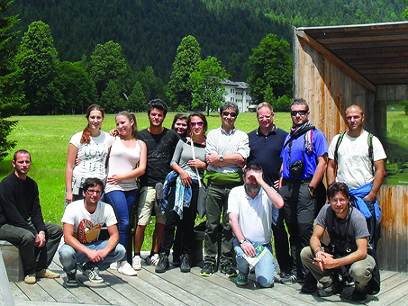 Gruppo Geslopan in Val Canali