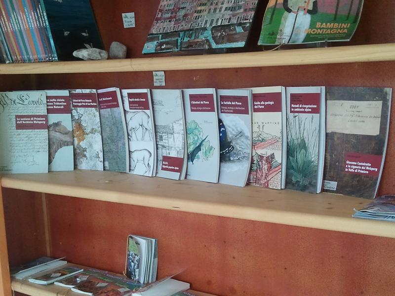I Quaderni del Parco nel bookshop di Villa Welsperg