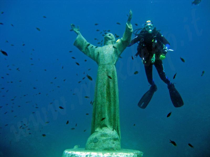 Il Cristo degli abissi a Portofino