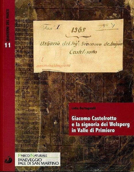 Il Quaderno del Parco dedicato all'Urbaro di Giacomo Castelrotto