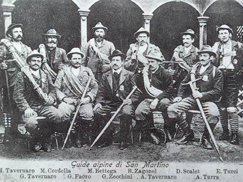 Immagine storica delle Aquile di San Martino