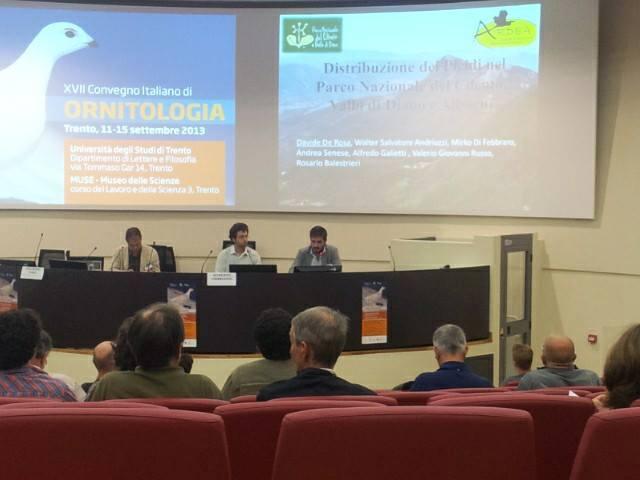 Convegno Italiano di ORNITOLOGIA a Trento