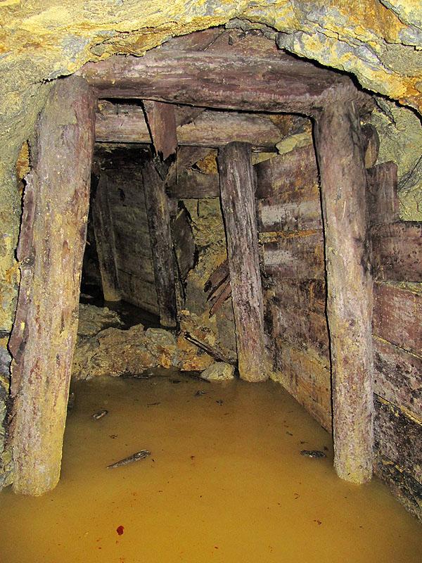 Interno miniera Terrabugio