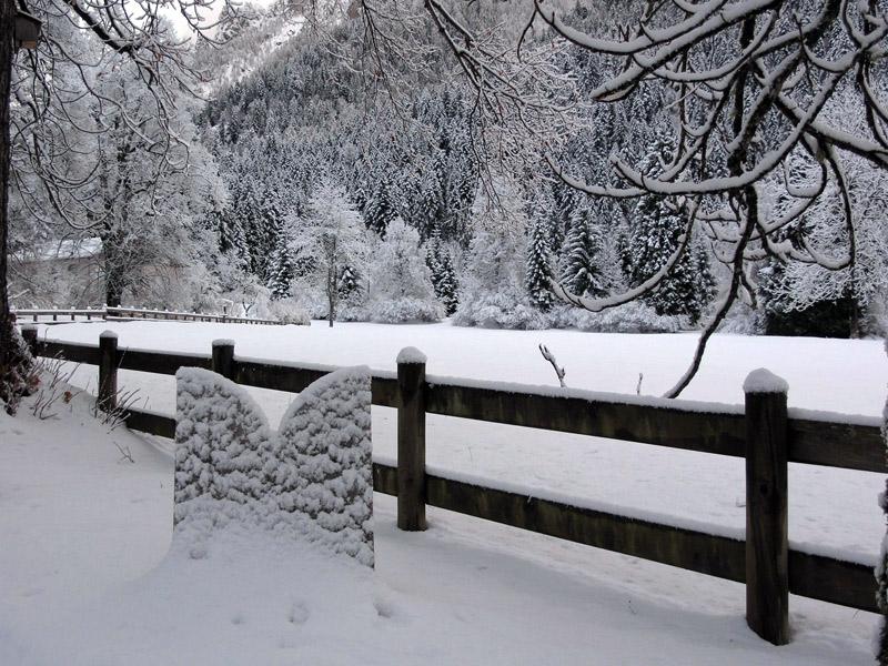 Inverno a Villa Welsperg