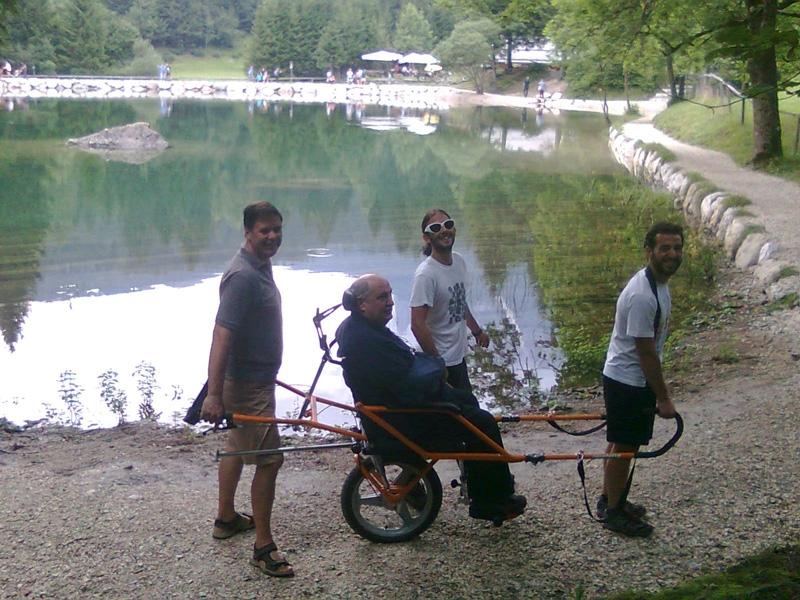 La JOELETTE aiuta i disabili a vivere la natura