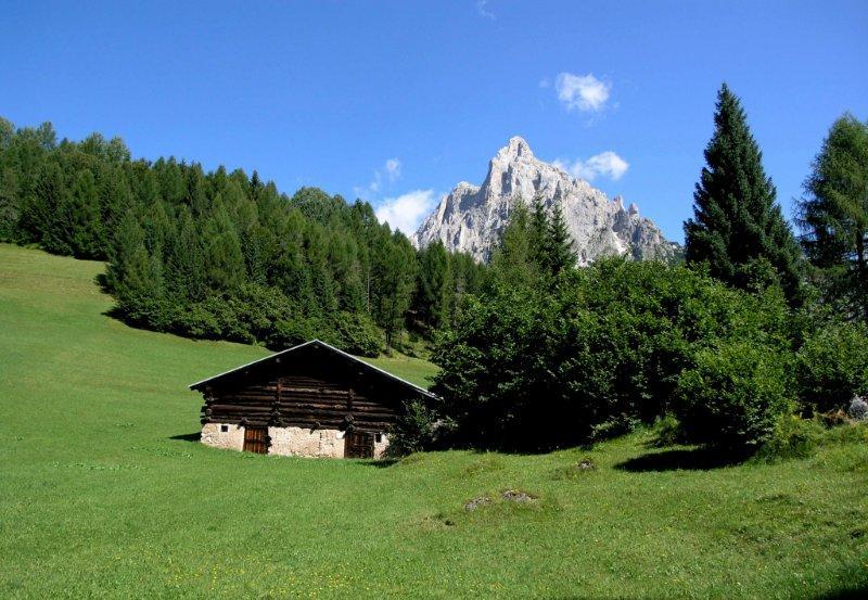 Località Lach in Val Canali