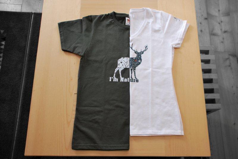 Magliette cervo uomo e donna