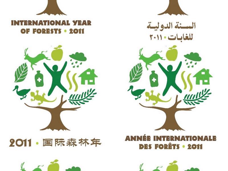Marchio Anno internazionale delle foreste