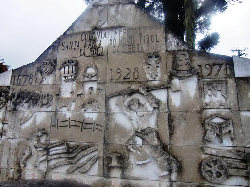 Monumento a Colonia Santa Maria (Piraquara)
