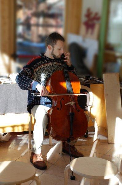 Nicola Segatta, liutaio e violinista, Trento