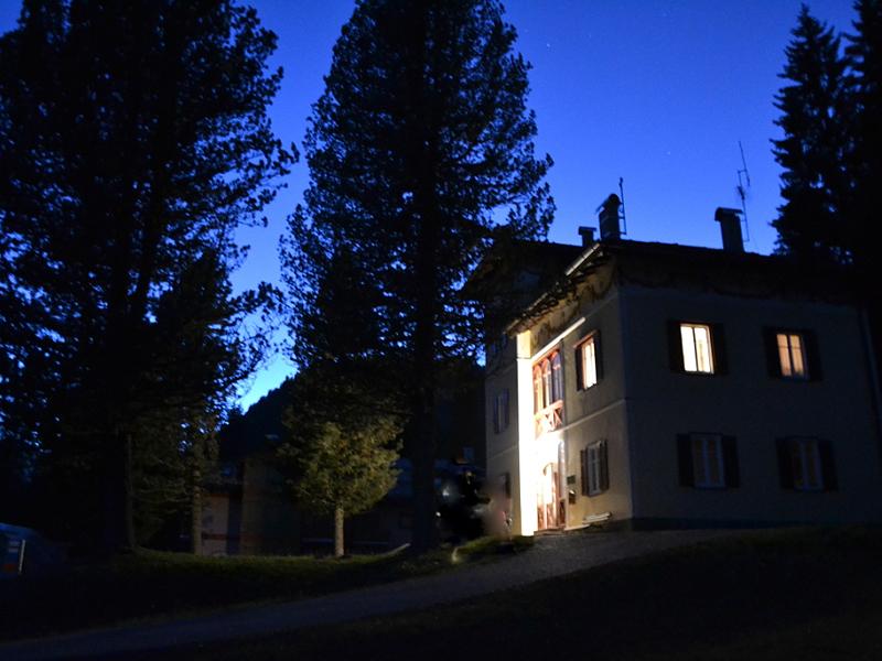 Notte a Villa Inferiore