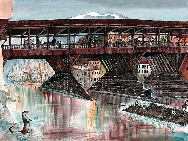 """La mostra """"Un fiume di legno"""" è a Bassano del Grappa"""