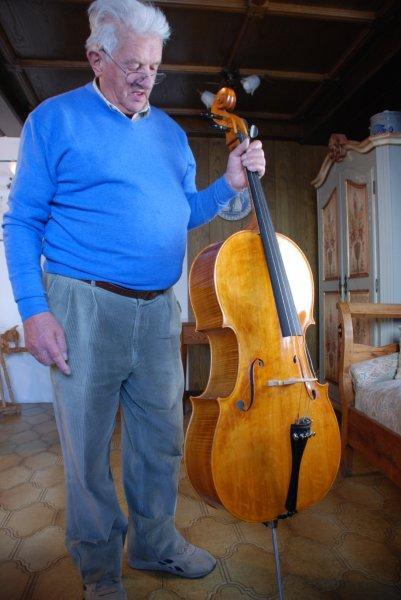 Romano Doff Sotta, liutaio, Imèr Trento