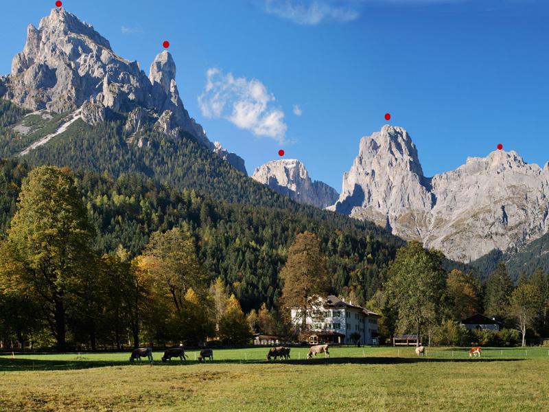 Val Canali e Villa Welsperg