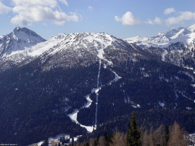 Versante tra San Martino e Cima Tognola