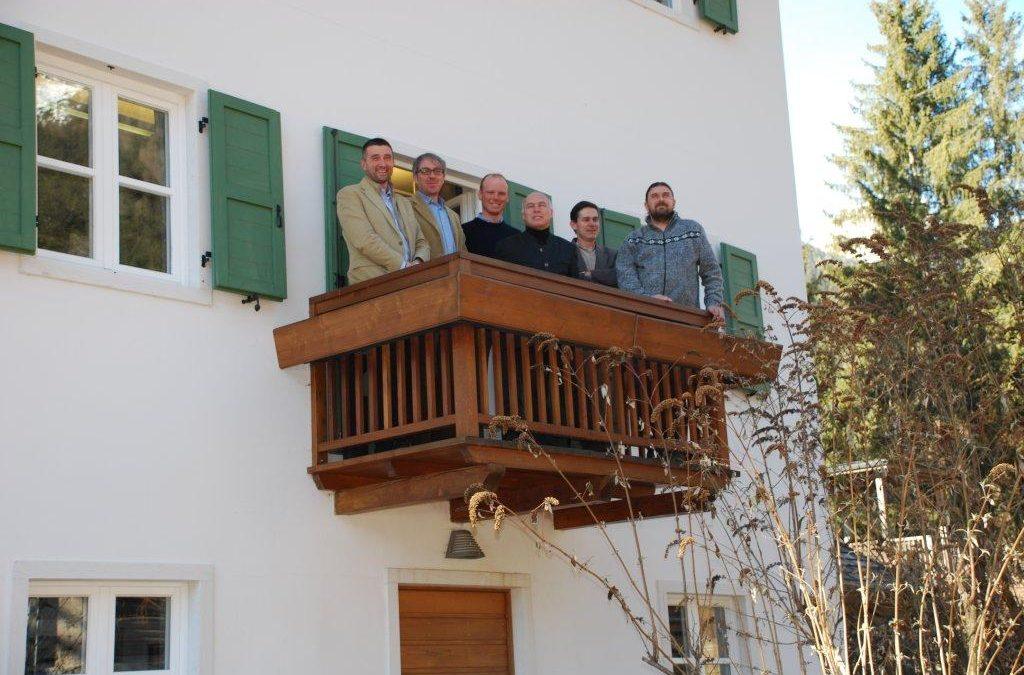 L'Assessore Franco Panizza in visita a Villa Welsperg
