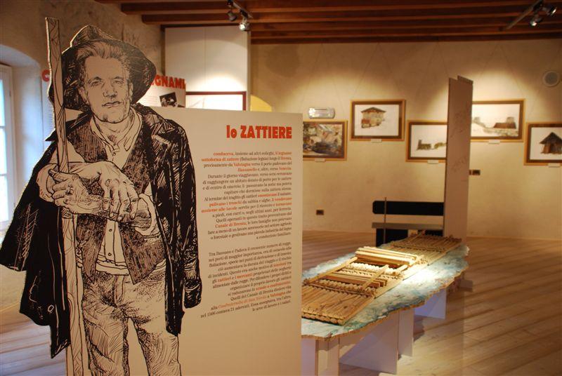 Allestimento al Museo degli Usi e Costumi della Gente Trentina (San Michele all'Adige - TN)