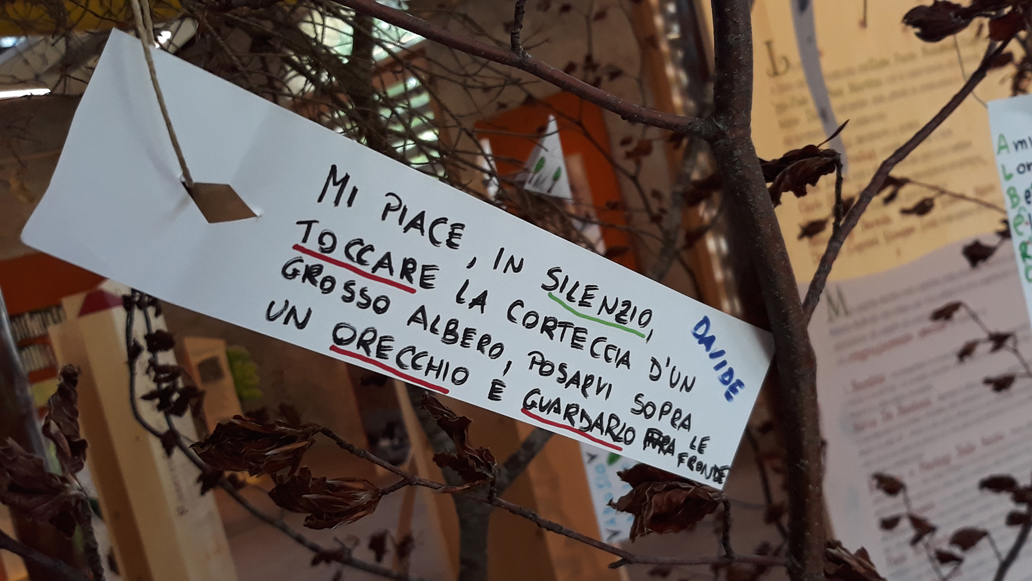 MI piace i silenzio