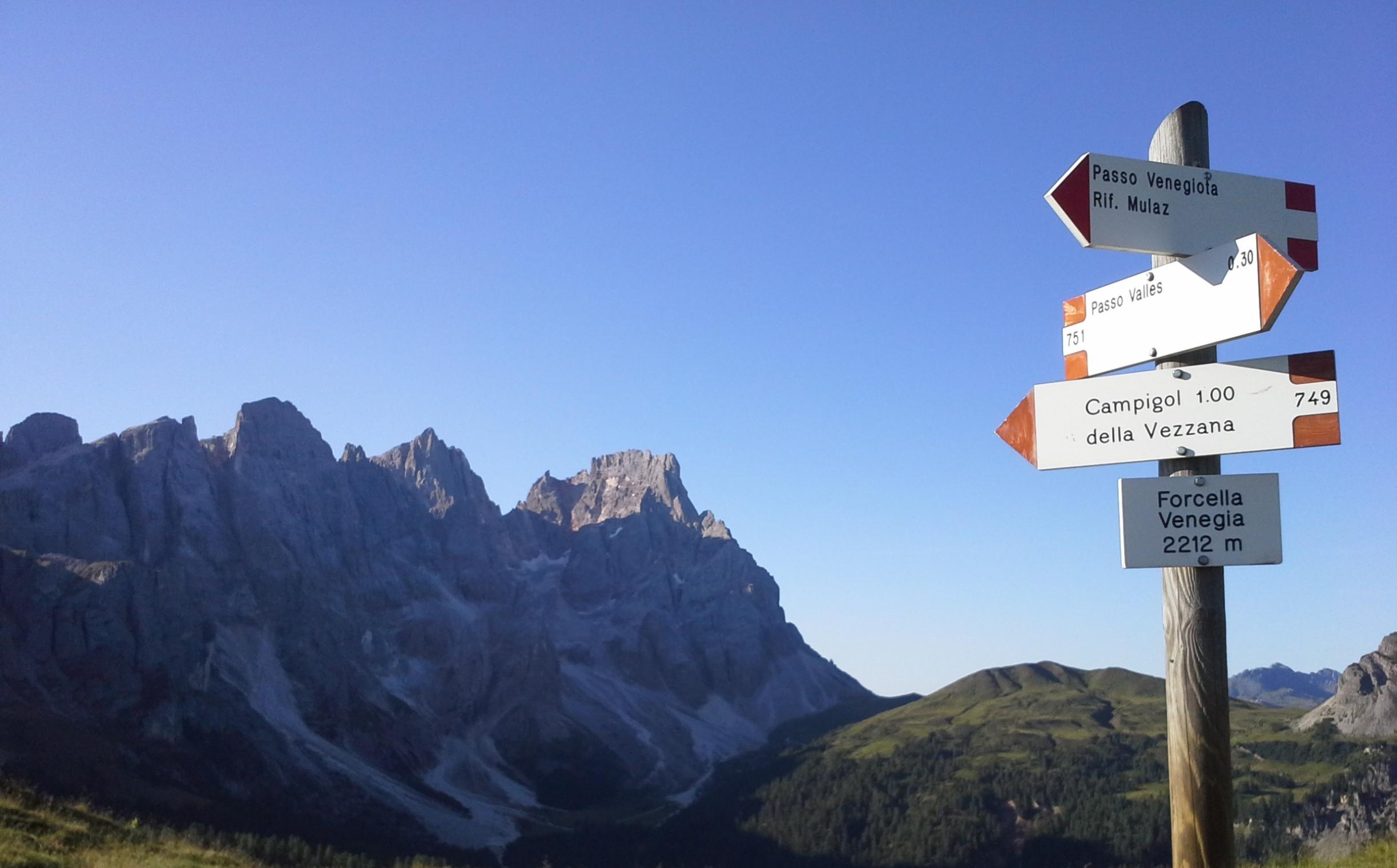 Sentiero Geologico Valles Venegia