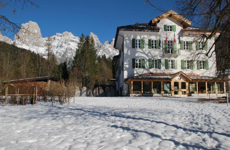 Villa Welsperg, Centro Visitatori