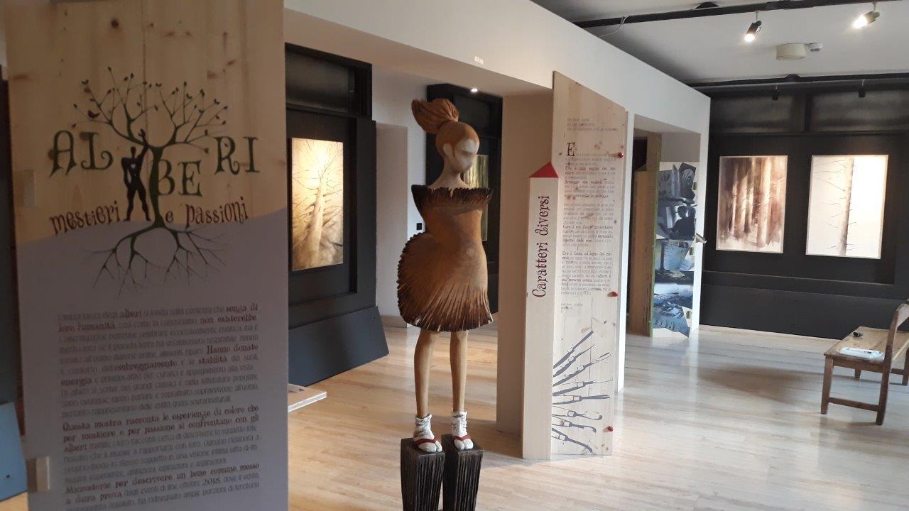 Una mostra dentro la mostra. Alberi: mestieri e passioni a Rovereto