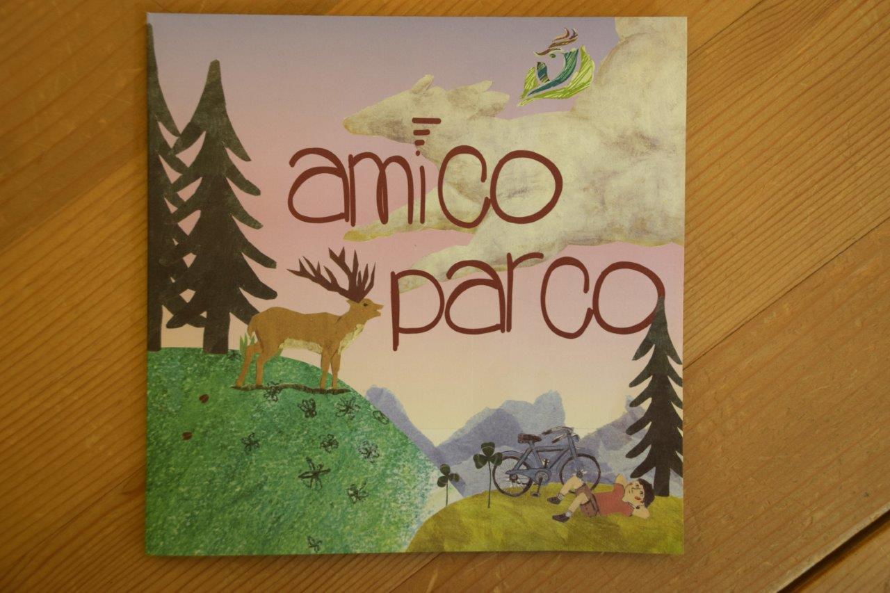 Amico Parco, un depliant dedicato ai bambini